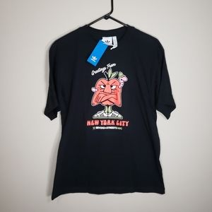 New! Adidas NYC Greetings T-Shirt || Men's Size: M